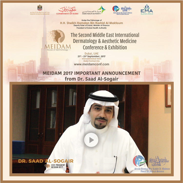 HMAward's is presenting Dr. Saad Al-Sogair's Important Announcement about MEIDAM 2017