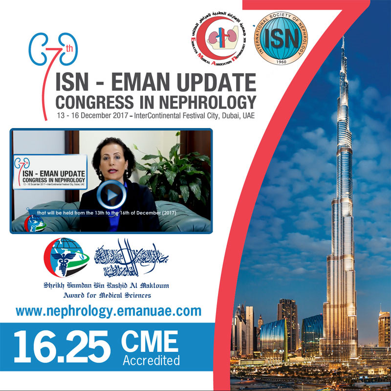 Professor Mona Al Rukhaimi on the 7th ISN-EMAN Update Congress in Nephrology