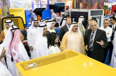 H.H. Sheikh Hamdan Bin Rashid opens Middle East Electricity and Solar Middle East