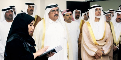 H.H. Sheikh Hamdan Bin Rashid opens the 1st sustainable building in UAE