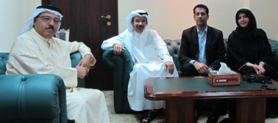 Al Khaja reviews the cooperation with Sharjah University and Emirates Cardiac Society