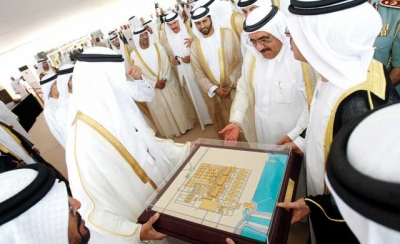 H.H. Sheikh Hamdan Bin Rashid opens the largest electricity and water station in the UAE