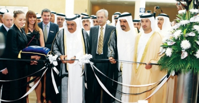 H.H. Sheikh Hamdan bin Rashid opens the INDEX & Office Exhibition