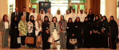 UAE Minister of Health inspects the activities of the Health Economics Diploma