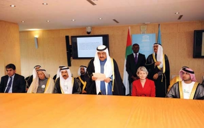 During his visit to Paris, France: H.H. Sheikh Hamdan Bin Rashid supports the UNESCO activities