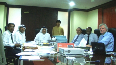 Al Khaja reviews the Award's Medical Research Grants activities