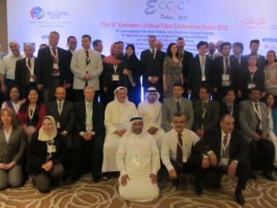8th Emirates Critical Care Conference honors Hamdan Medical Award