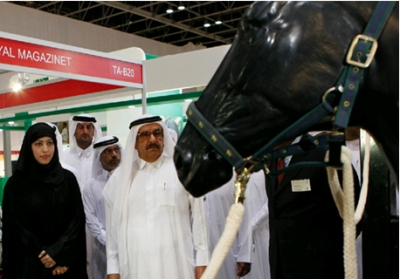H.H. Sheikh Hamdan opens the 9th edition of Dubai International Horse Championship