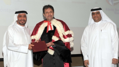 In cooperation with University of Montpellier (1), France: Sheikh Hamdan Bin Rashid Award for Medical sciences honors the graduates of the 1st batch of Regional Anesthesia and Analgesia Diploma For the first time in the Middle East: Dubai Rashid Hospital is certified by Montpellier (1) University as a World Training Centre for Anesthesiology