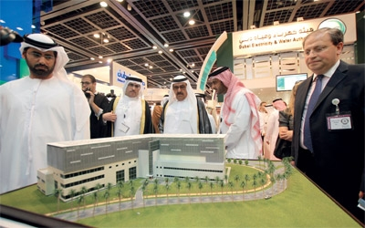H.H. Sheikh Hamdan Bin Rashid supports green technologies and renewable energy projects