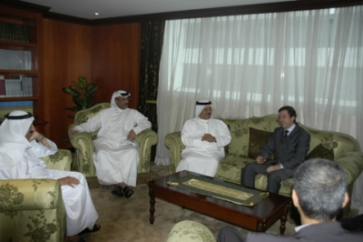 SHAMS discusses ways of cooperation with Consulate-General of France in Dubai