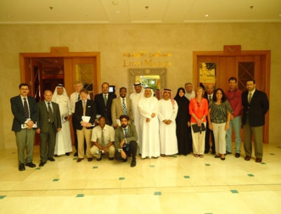 Al Khaja meets the members of the Scientific Committee of Sheikh Hamdan Bin Rashid Al Maktoum Award for Medical Sciences