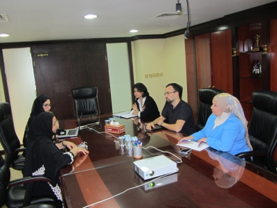 Hamdan Medical Award discusses the cooperation with Positive Cancer