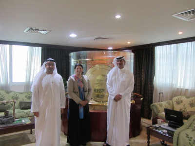 Hamdan Medical Award discusses the mutual cooperation with the House of Lords