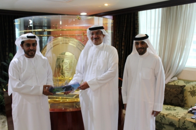 Hamdan Medical Award discusses cooperation with Mohammed Bin Rashid Al Maktoum Award for World Peace