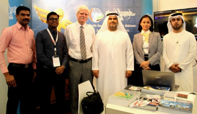 Hamdan Medical Award participates in the Graduate Studies Research & Open Day in the UAE University