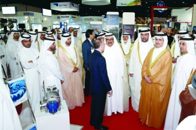 H.H. Sheikh Hamdan bin Rashid al Maktoum opens the 2nd Green Week
