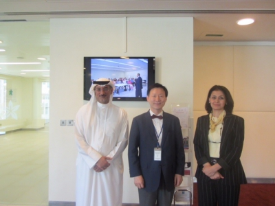 Hamdan Medical Award discusses the cooperation with the Asia federation of Nuclear Medicine