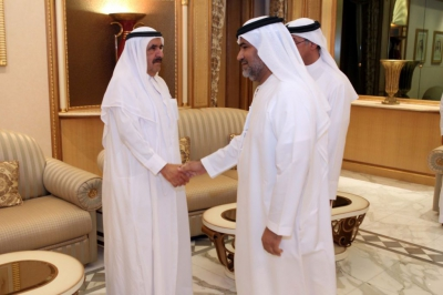 H.H. Sheikh Hamdan bin Rashid receives Ramadan greetings from Hamdan Medical Award
