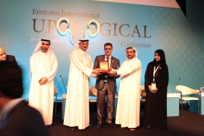 The 4th Emirates International Urological Conference honors Hamdan Medical Award