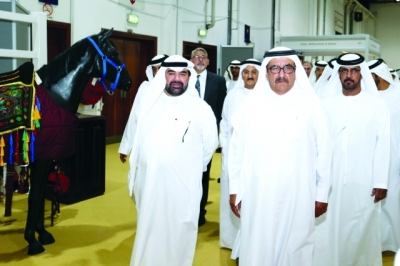 H.H. Sheikh Hamdan bin Rashid opens Dubai International Arabian Horse Championship and Fair