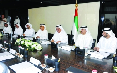 H.H. Sheikh Hamdan bin Rashid heads the 1st meeting of the Federal Tax Authority's board of directors