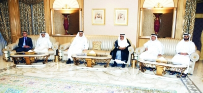 Sheikh Hamdan bin Rashid receives heads of consular missions in Dubai