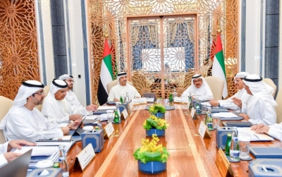 Hamdan bin Rashid chairs regular meeting of 'Financial and Economic Committee