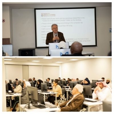The Centre for Arab Genomic Studies Hosts Genomic Data Analysis Workshop in Dubai