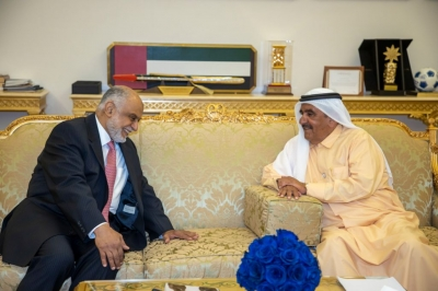 Hamdan bin Rashid receives Delegation from the Islamic Organization for Medical Sciences