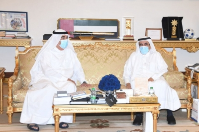 UAQ Ruler congratulates Hamdan bin Rashid on successful surgery