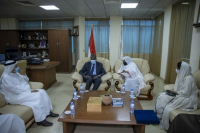 Sudanese Minister of Higher Education receives Al Maktoum Foundation delegation