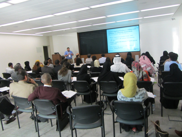 Hamdan Medical Award supports a training course on the